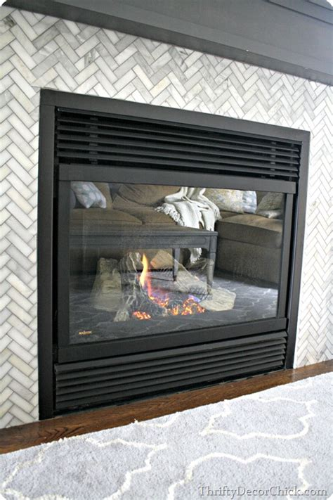 cleaning gas fireplace glass from thrifty decor