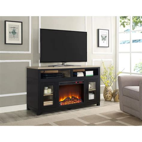 Tv Table With Fireplace by 25 Best Ideas About Fireplace Tv Stand On Diy