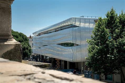 musee de la romanite  nimes  architect