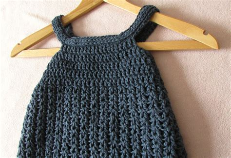 simple pattern pinafore dress easy crochet dress patterns for beginners crochet and knit