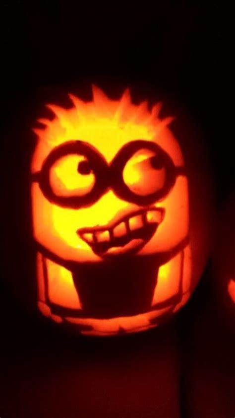 minion pumpkin carving fall pinterest