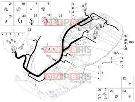 vespa lx 150 wiring diagram vespa rally 200 wiring diagram