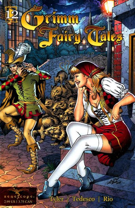 The Brothers Grimm 101 Tales grimm tales 12 the pied piper issue