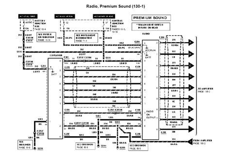 2006 ford mustang radio wiring diagram ford auto parts