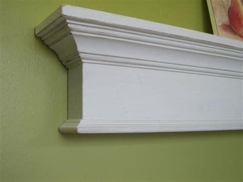 White Mantel Shelf by Place Wooden Mantel Shelf 48 Quot Shabby Paint Mantel