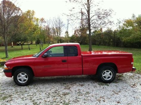 car owners manuals for sale 1999 dodge dakota interior lighting buy used 1999 dodge dakota sport extended cab pickup 2 door 3 9l red 1 owner calif manual in