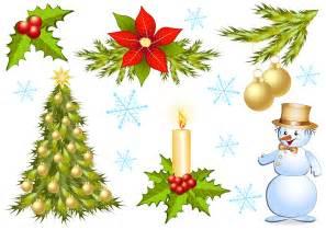 christmas decorations 1 vector free vector 4vector