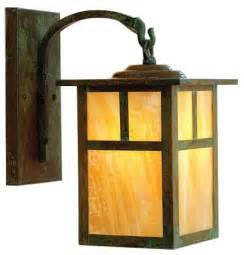 mission arched arm outdoor wall sconce modern outdoor