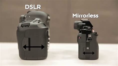 mirror less understanding dslr vs mirrorless cameras