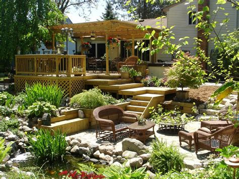 beautiful backyard patios more beautiful backyards from hgtv fans landscaping