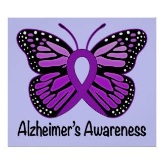 alzheimer s color alzheimers disease awareness posters zazzle