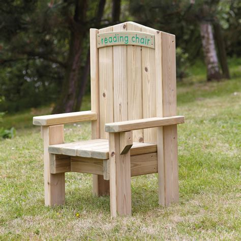childrens reading chairs uk buy outdoor wooden children s reading chair tts