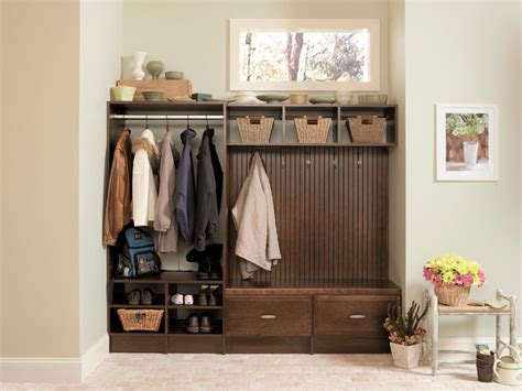 mudroom bench ideas shelves and benches for mudrooms hgtv