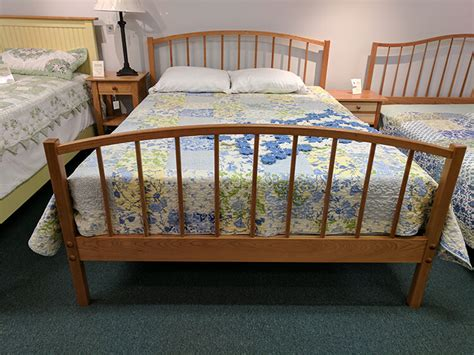 Shaker Furniture Of Maine by Shaker Furniture Of Maine 187 Cherry Spindle Bed