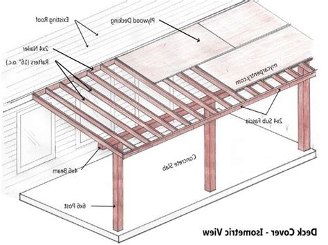 Do It Yourself Patio Cover Plans   Images About Desain