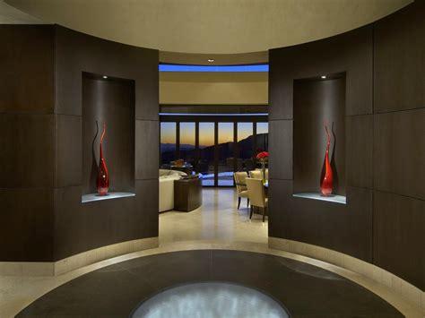 Foyer Modern by Contemporary Desert Retreat Dk Decor