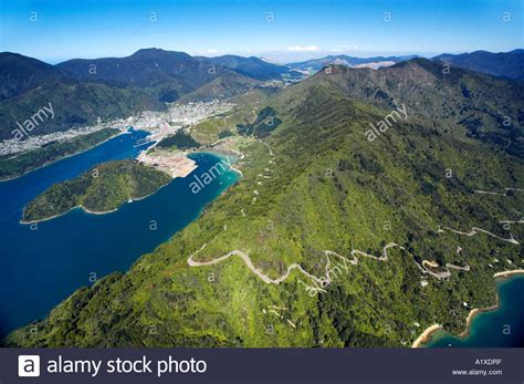 drive nz queen charlotte drive and picton marlborough sounds south