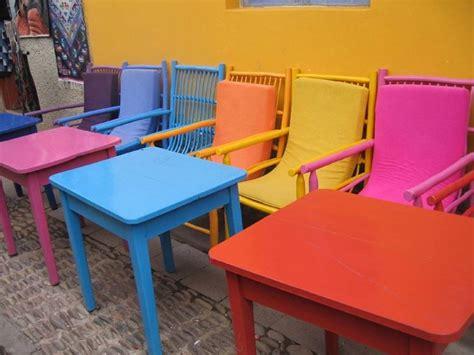 poltrone colorate sedie colorate mobili