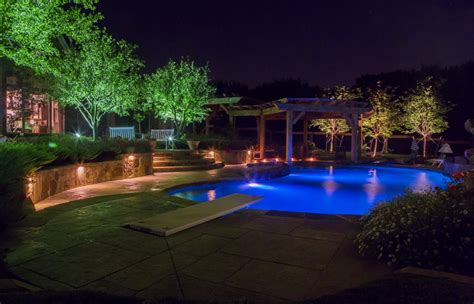 Landscape Lighting Frisco Tx Highland Park Outdoor Lighting Dallas Landscape Lighting