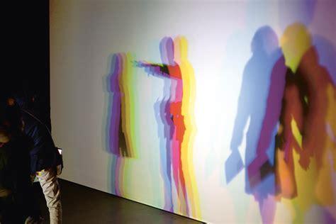 Slow motion shadow in  ? Artwork ? Studio Olafur Eliasson