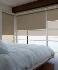 roller blinds for bedrooms and living area windows