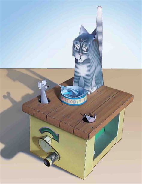 Automata Papercraft - cool4cats amazing card kits see the models