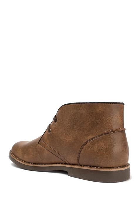us polo assn boots for u s polo assn bleeker chukka boot in brown for lyst