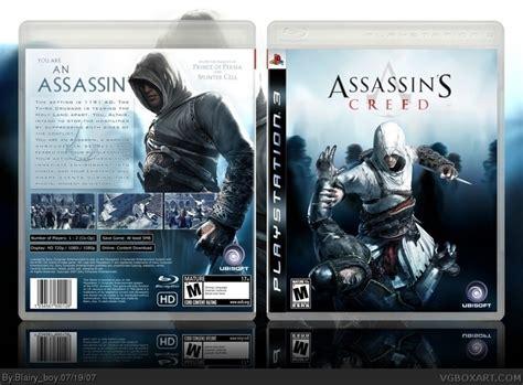 amazoncom assassins creed playstation 3 artist not assassin s creed playstation 3 box art cover by blairy boy