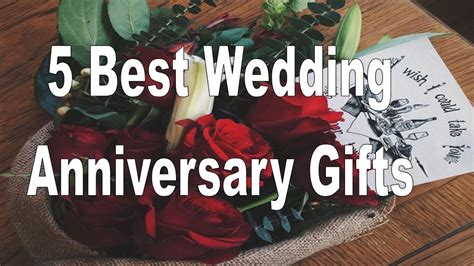 Wedding Anniversary Gifts For Couples by 5 Best Wedding Anniversary Gifts For Couples