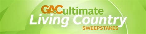 country living sweepstakes gac ultimate living country sweepstakes win 50 000