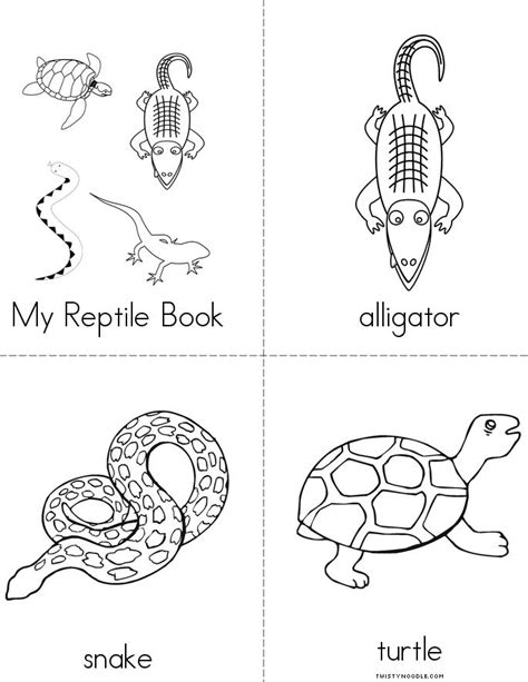printable reptile images my reptile book twisty noodle