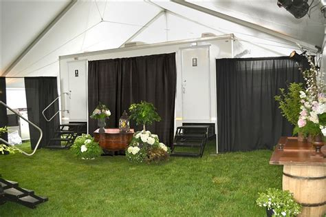 nice portable bathrooms high end portable toilets are reaching new heights in design and comfort pittsburgh