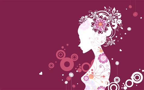 wallpaper for walls vector vector girl wallpapers best wallpapers
