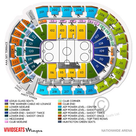 Nationwide Arena Box Office by Diagram Of The Palace Auburn The Palace Of Chicago