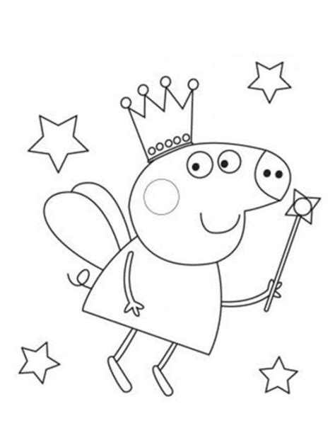 Peppa Pig Valentines Coloring Pages | im 225 genes peppa pig para colorear dibujar e imprimir