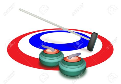 curling game sport royalty free cartoon cartoondealer curling clipart clipground