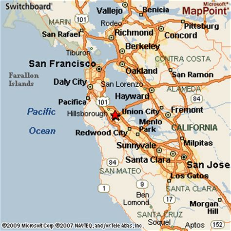 map of san mateo california san mateo california