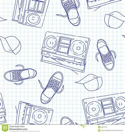 hip hop beatbox pattern hip hop music seamless pattern stock image image 28211531
