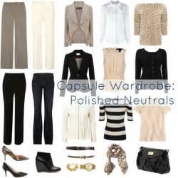ask capsule wardrobe of neutrals wardrobe oxygen