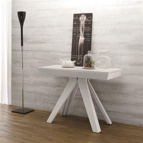 consolle tavolo allungabile prezzi consolle veronika allungabile in tavolo 3 metri in
