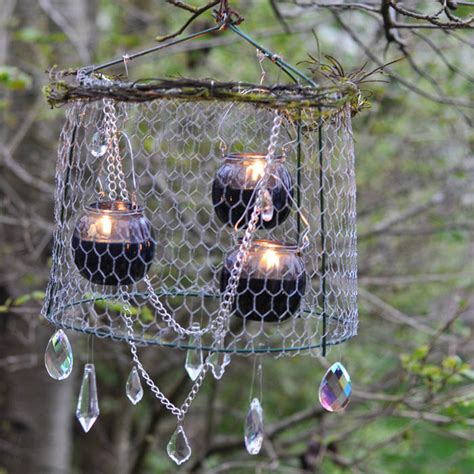 Outdoor Chandelier Diy 10 Diy Projects To Make With A Tomato Cage