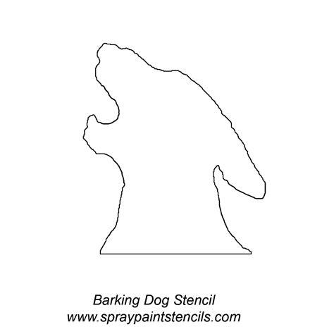 printable stencils of dogs free stencils printable stencils