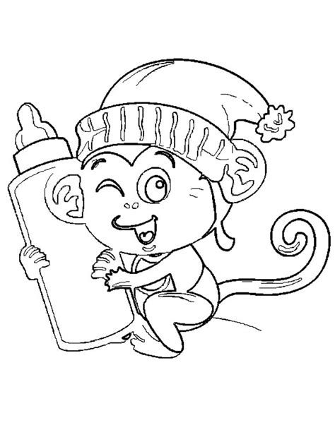 new year coloring pages monkey coloring for the new year 2016 monkeys and print