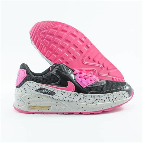 Sepatu Nike Airmax Etnik Hitam Pink Sport Shoes jual sepatu nike airmax 90 sparkle hitam putih bakul sepatu outdor