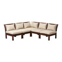 applaro outdoor sectional wooden sofa from ikea seating