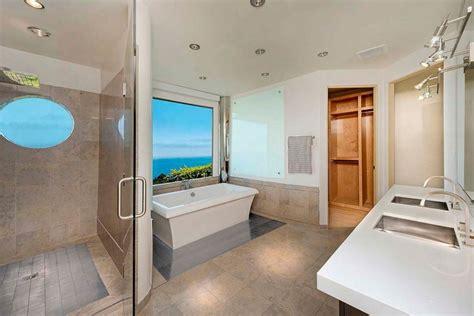 modern master bedroom bathroom designs at home design