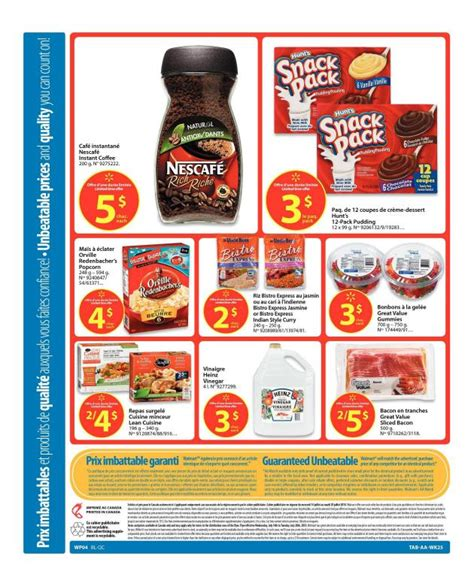printable grocery coupons walmart canada flyer walmart canada grocery flyer jul 14 20