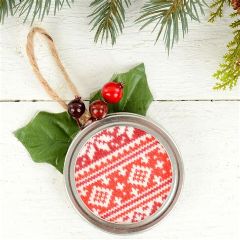 how to make rustic christmas ornaments easy tree