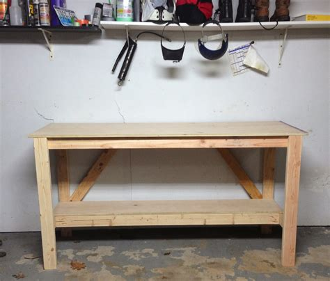 homemade work benches wilker do s diy workbench