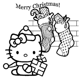 hello kitty merry christmas coloring pages hello kitty christmas coloring pages